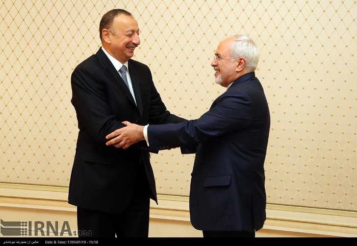 تصاویری از ملاقاتهای مهم ظریف در باکو