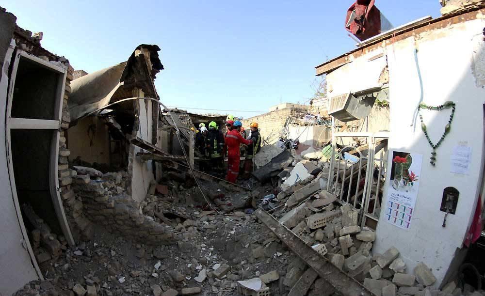 تصاویری از انفجار مرگبار در بلوار بهمن مشهد