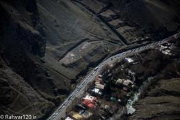 وضعیت جوی و ترافیکی جاده های کشور/هراز و چالوس همچنان ٢ طرفه است