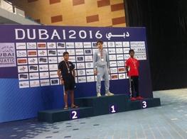 سونامی تهران در دوبی/ پایتخت برای اولین بار در تاریخ شنا طلایی شد