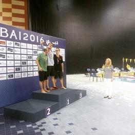 کولاک شناگران تهران در روز سوم مسابقات دبی/سپید دست طلا گرفت امرالهی نقره ای
