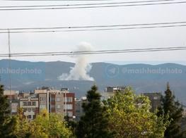 انفجار در ارتفاعات جنوبی مشهد