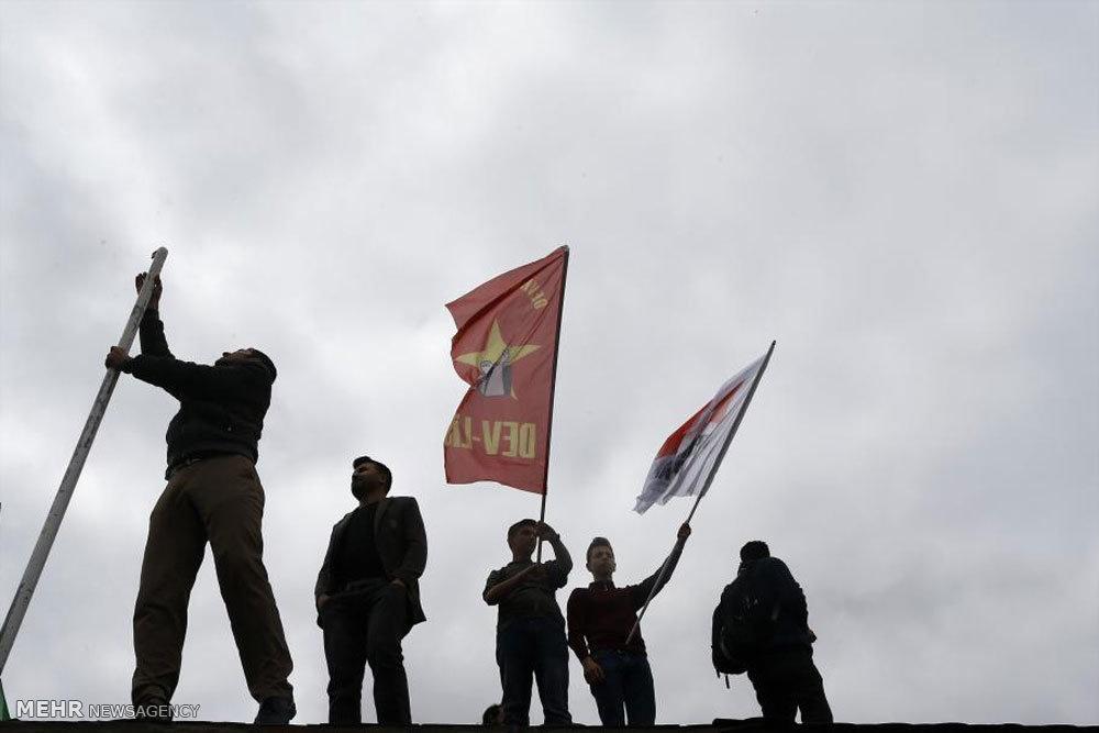 تظاهرات روز کارگر در کشورهای جهان