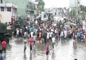 باران بیسابقه در سریلانکا با 45 کشته