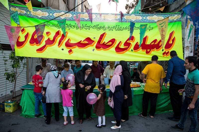 شب میلاد امام زمان (عج) در تهران