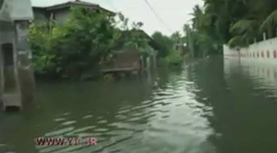 82 کشته بر اثر سیل و رانش زمین در سریلانکا