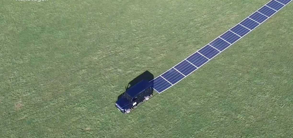 صفحات خورشیدی متحرک را ببینید