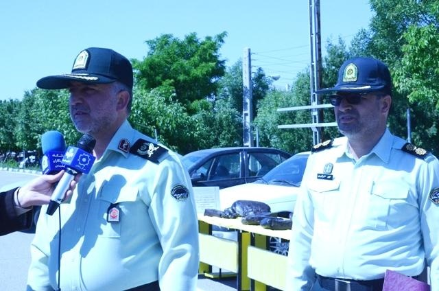 500 کیلو مواد مخدر در زنجان