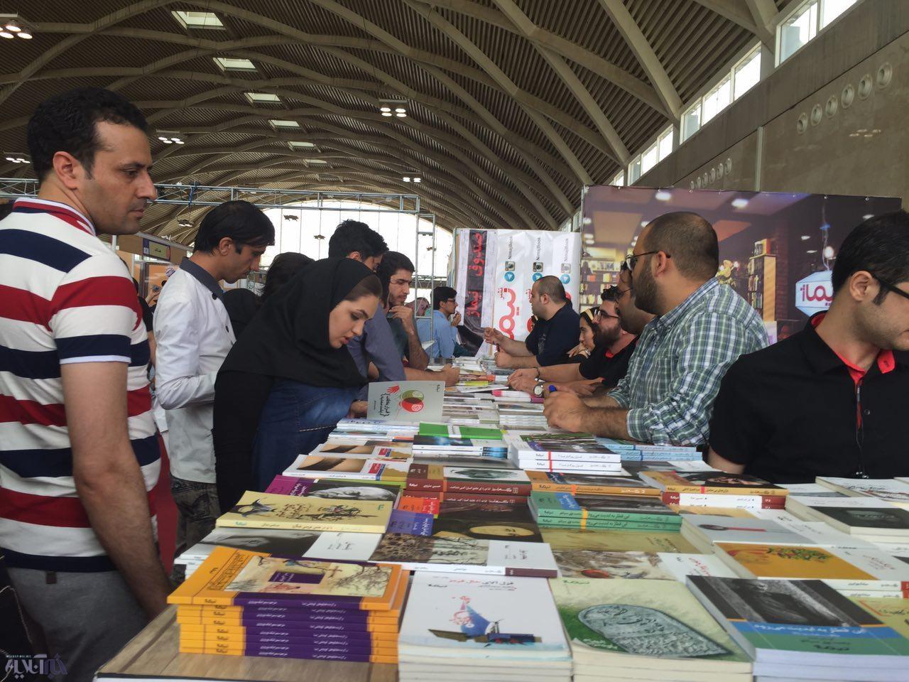 استقبال مردم در نهمین روز نمایشگاه کتاب به اوج رسید