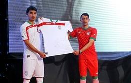 رونمایی از لباس جدید تیم ملی بدون حضور بازیکنان و اعضای کادر فنی