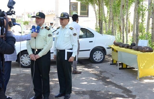 کشف بیش از 110 کیلو گرم مواد مخدر در زنجان