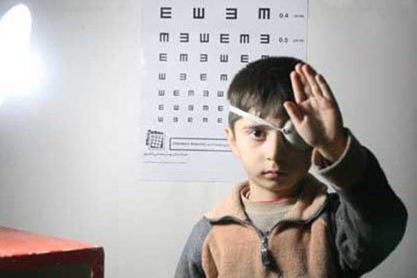 بهره مندی ۴۲ هزار کودک از طرح بینایی سنجی بهزیستی استان البرز