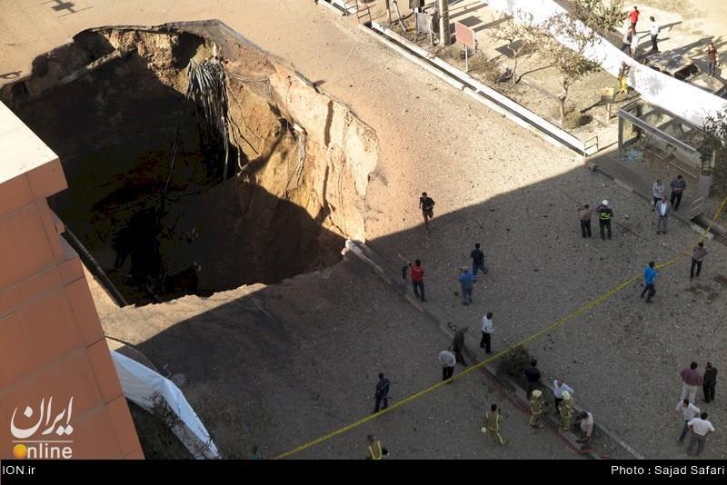چرا کسی نمیگوید دلیل انفجار شهران، مرگ دو نفر و حفره ۵۰ متری روی تونل مترو، چه بود؟