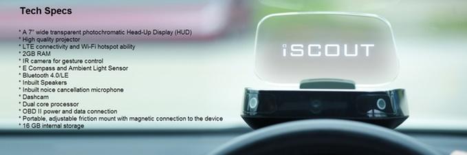 رانندگی هوشمندتر و امنتر با نمایشگر آی-اسکات