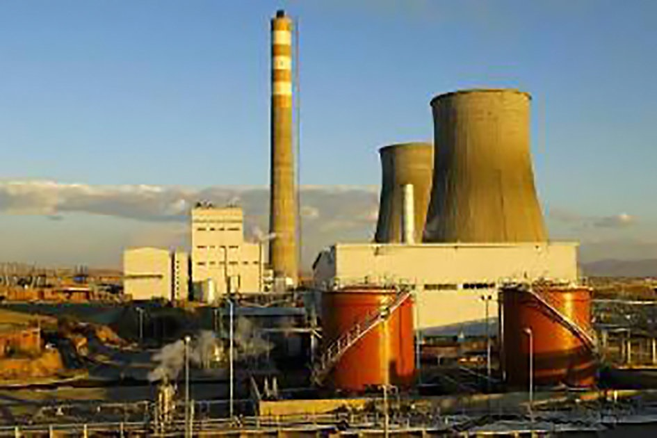 نیروگاه هزار مگاواتی برق همدان با استفاده ار سوخت فسیلی ، آلودگی زیادی تولید می کند