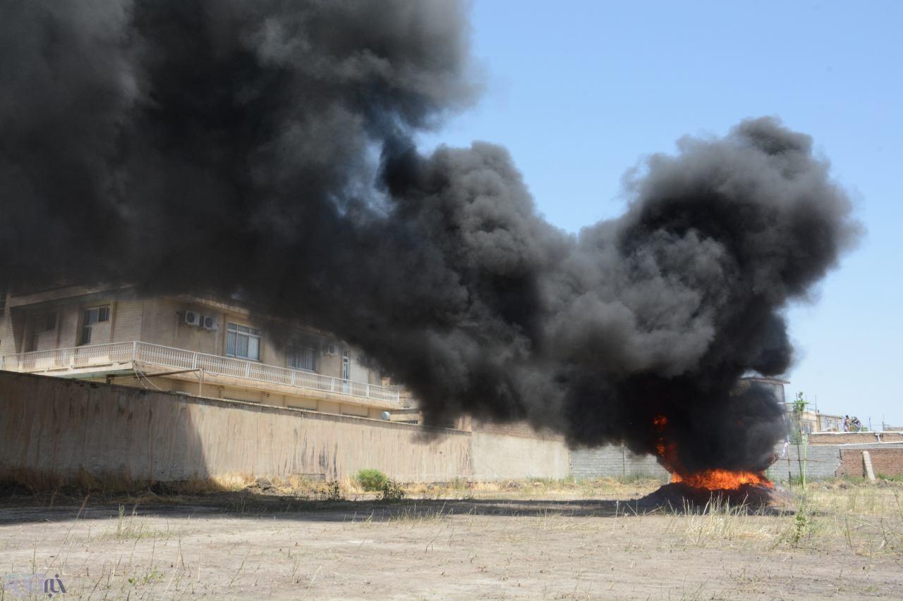 امحاء بیش از یک تن مواد مخدر مکشوفه آذربایجان غربی