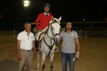 درخشش سوارکار البرزی در مسابقات بین المللی پرش با اسب گرجستان