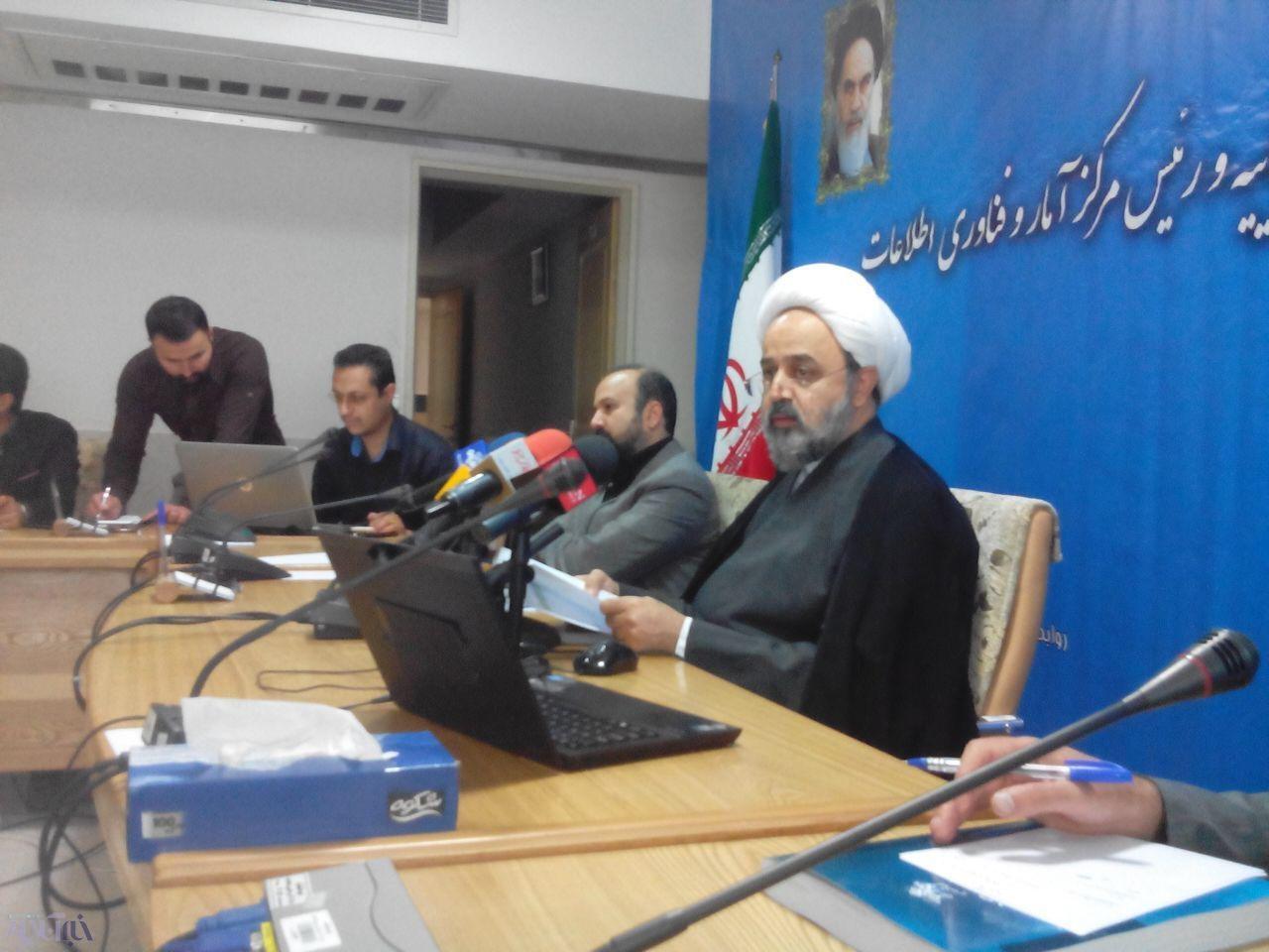 ورود ۹ میلیون پرونده قضایی جدید در سال ۹۴/ آمار کنش ایرانیها در حوزه قضایی/ آمار بالای جرایمکیفری