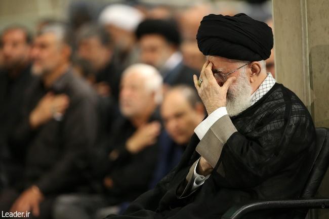 مراسم سوگواری حضرت علی(ع) در حضور رهبر معظم انقلاب