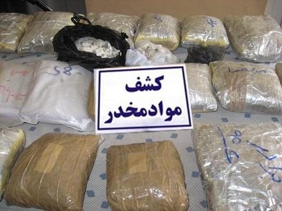کشف 45 کیلو مواد مخدر از یک کامیون در زنجان
