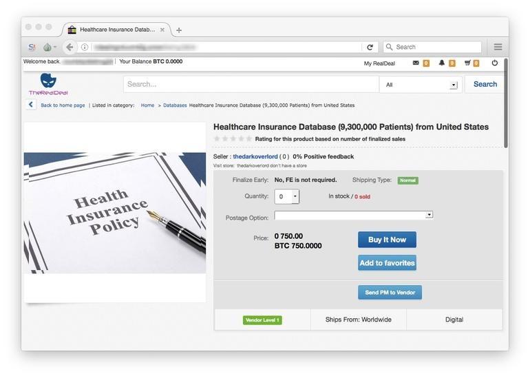 فروش اسناد پزشکی 10 میلیون بیمار امریکایی توسط یک هکر جنجالی شد