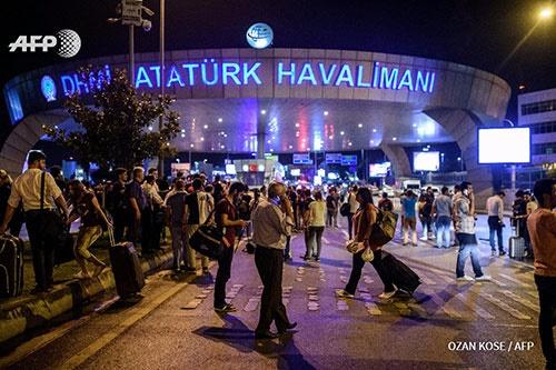 لغو تمام پروازها به مقصد استانبول/پروازهای بامداد امروز به مقصد بیروت،بغداد و کویت هم لغو شد