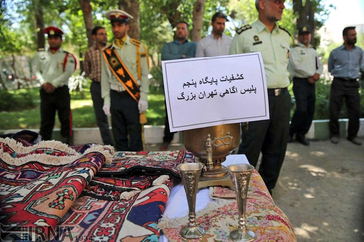 دستگیری 100 سارق و زورگیر با انهدام 29 باند سرقت در تهران