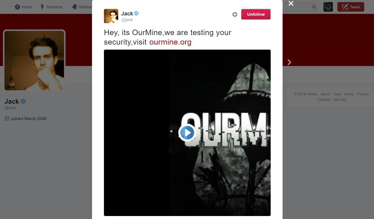 هک حساب کاربری مؤسس و مدیر اجرایی توئیتر آبروریزی شد / عکس