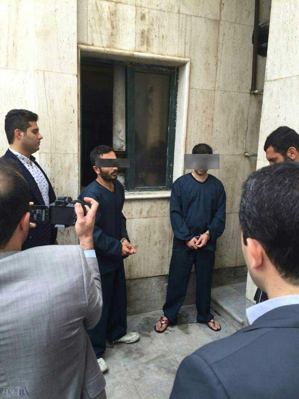 عکس   تصاویر دزدانی که دیوار بانک ملی را سوراخ کردند