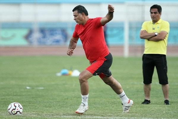 دایی دوباره فوتبالیست شد