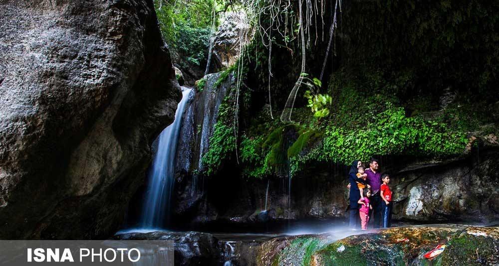 تصاویر | آبشار تنگ تامرادی