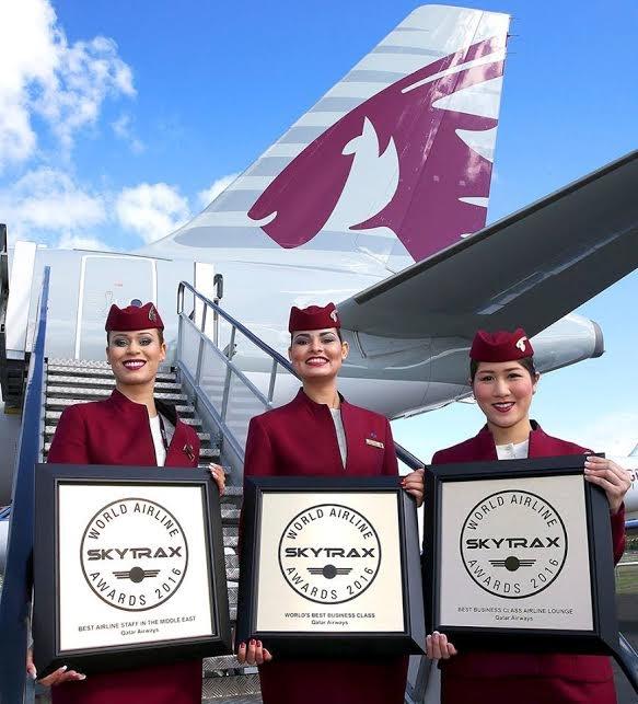 هواپیمایی قطر، بهترین کلاس تجاری سال 2016