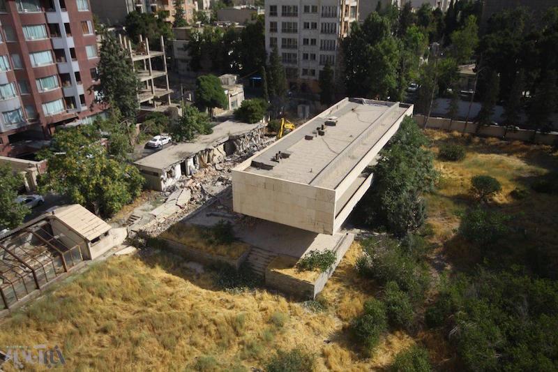 خانه اعیانی ملکه توران، زن سوم رضاشاه در زعفرانیه تخریب شد