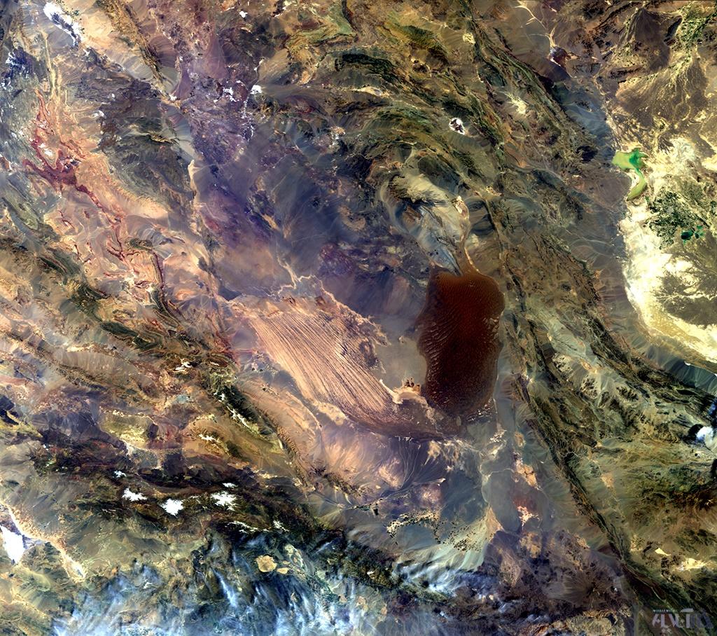 عکسهای خارقالعاده فضایی «دشت لوت» را دانلود کنید/گرمترین نقطه زمین در فهرست میراث یونسکو