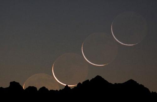 قابل رصد بودن هلال ماه شوال در سهشنبه شب/امکان رویت در سراسر کشور