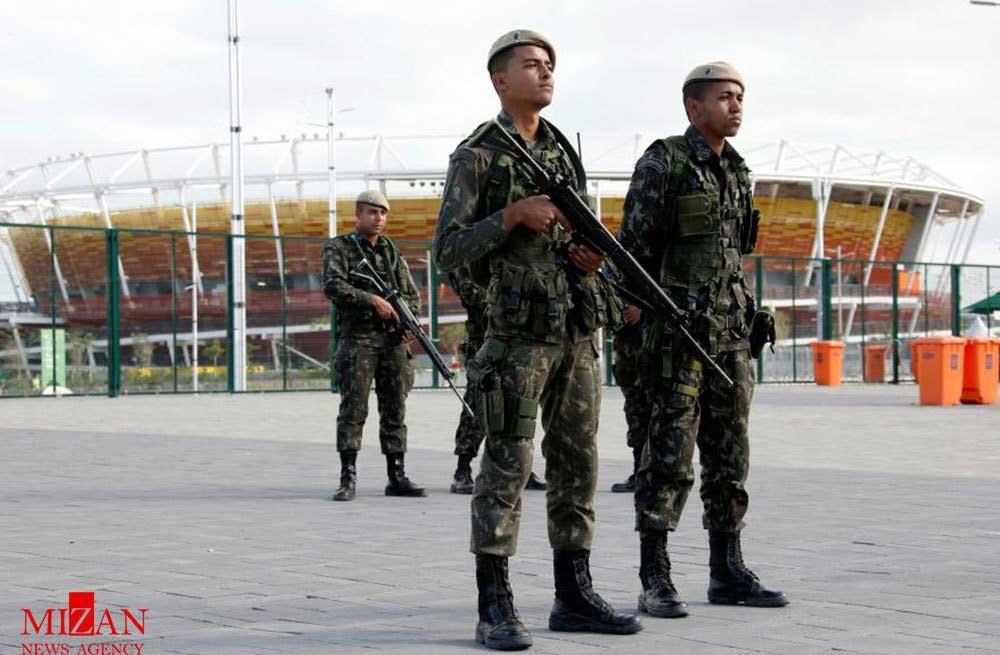 تصاویر | آمادگی نیروهای نظامی برزیل برای حفاظت از المپیک ریو 2016
