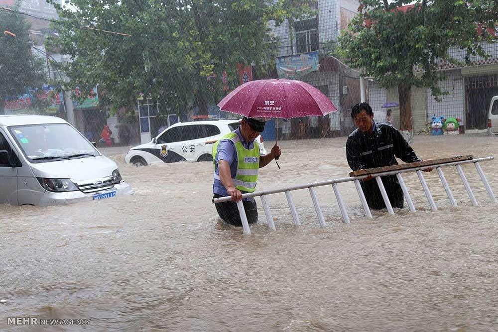 تصاویر | سیل در چین