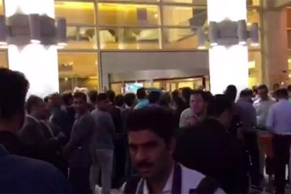 ویدئو  آغاز مراسم بهترینهای لیگ فوتبال
