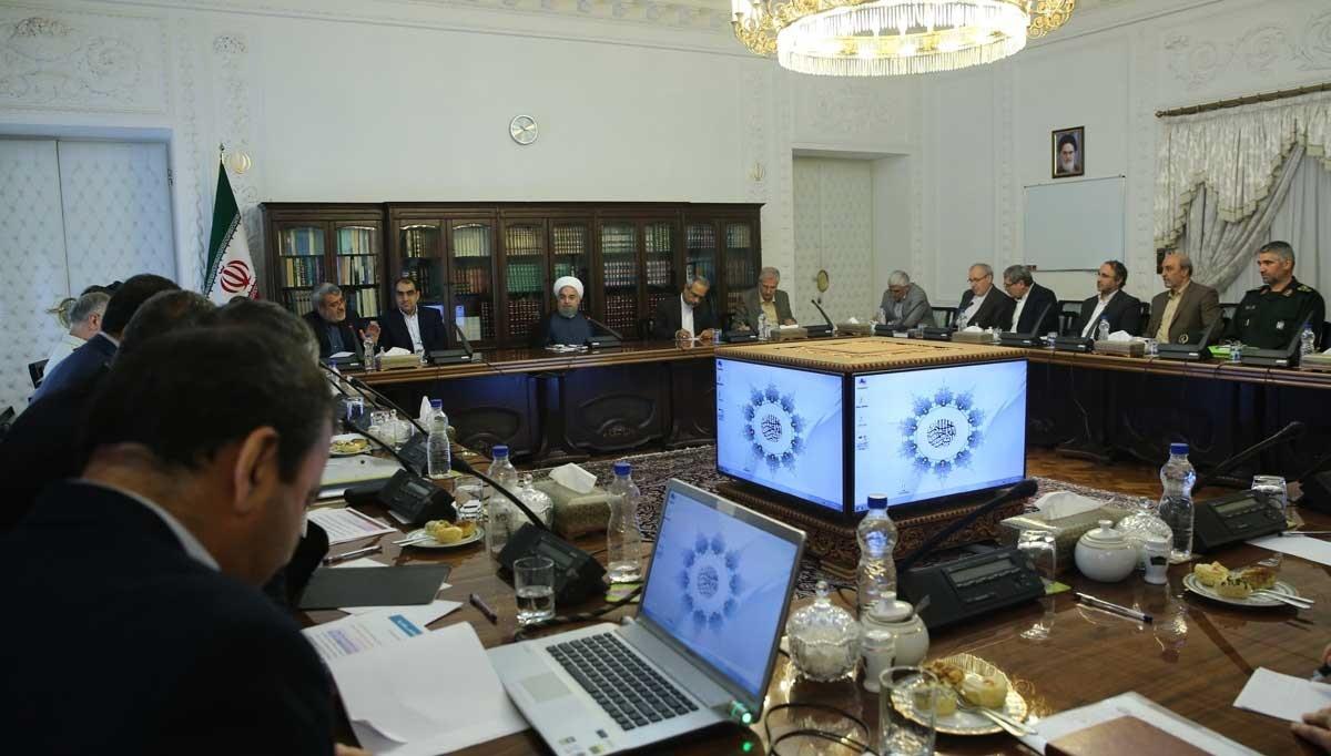 تصاویر   جلسه ستاد مبارزه با مواد مخدر با حضور رئیس جمهور