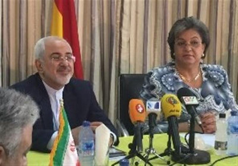 نشست همکاریهای اقتصادی ایران و غنا/ ظریف با همتای غناییاش دیدار کرد