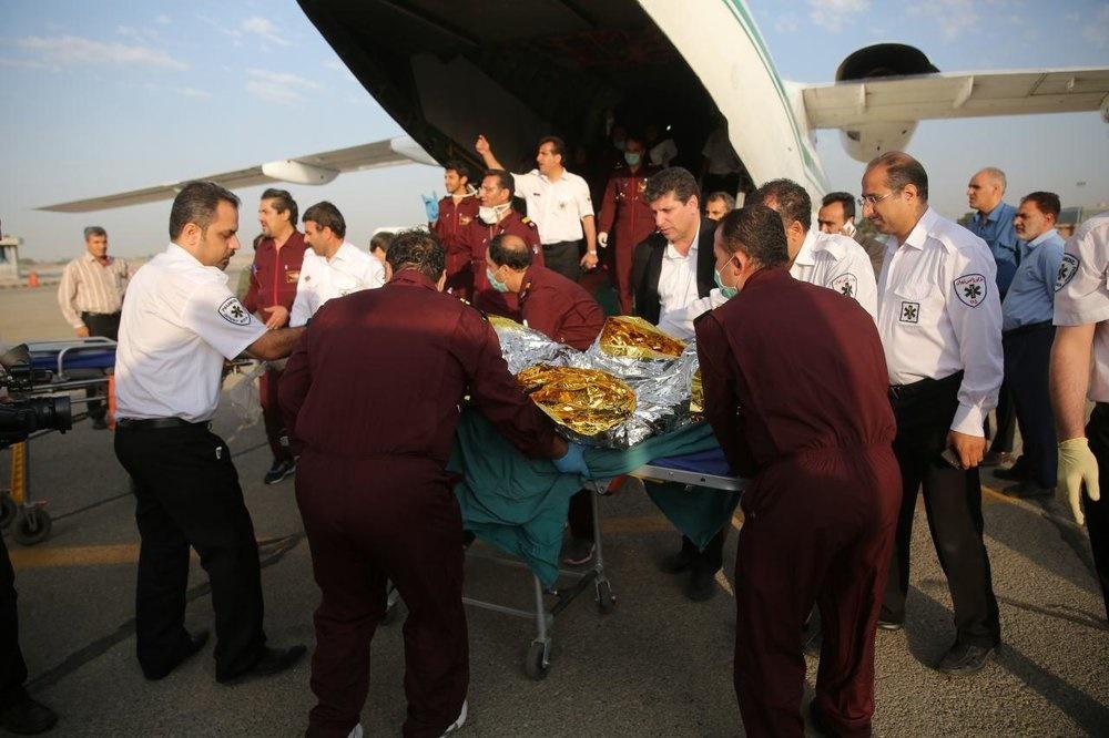 اعزام اولین گروه مصدومان آتشسوزی روستای شوریک خوی به تهران و بستری در بیمارستان