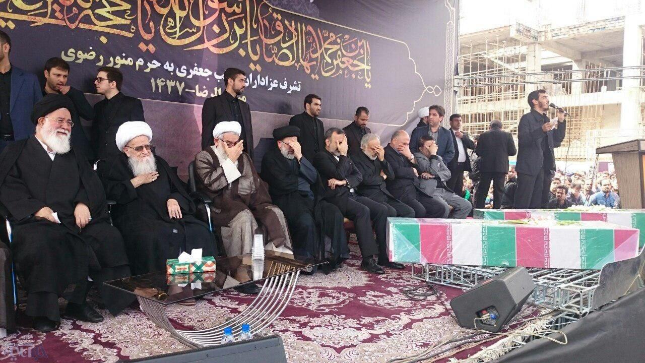 عکس | اجتماع عظیم صادقیون با حضور آیتالله صافی گلپایگانی در مشهد
