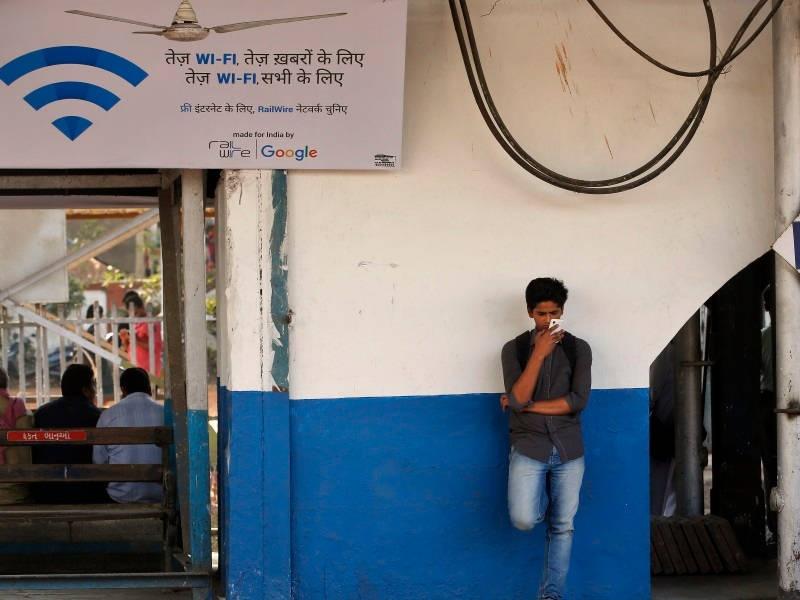 استفاده 2 میلیون هندی از اینترنت وایفای رایگان در ایستگاههای قطار
