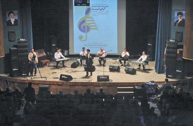 هنرمندان زنجانی، ناکام در اجرای کنسرتهای موسیقی