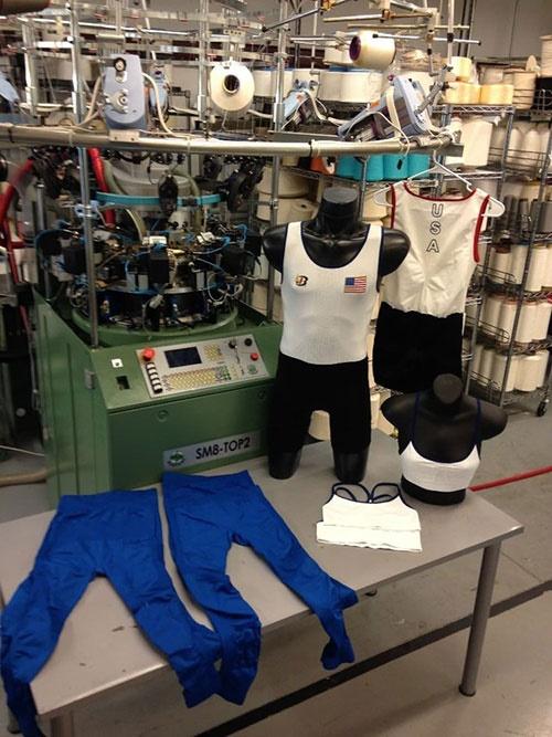 تولید لباس ضد میکروب و حشره برای تیم قایقرانی آمریکا در المپیک