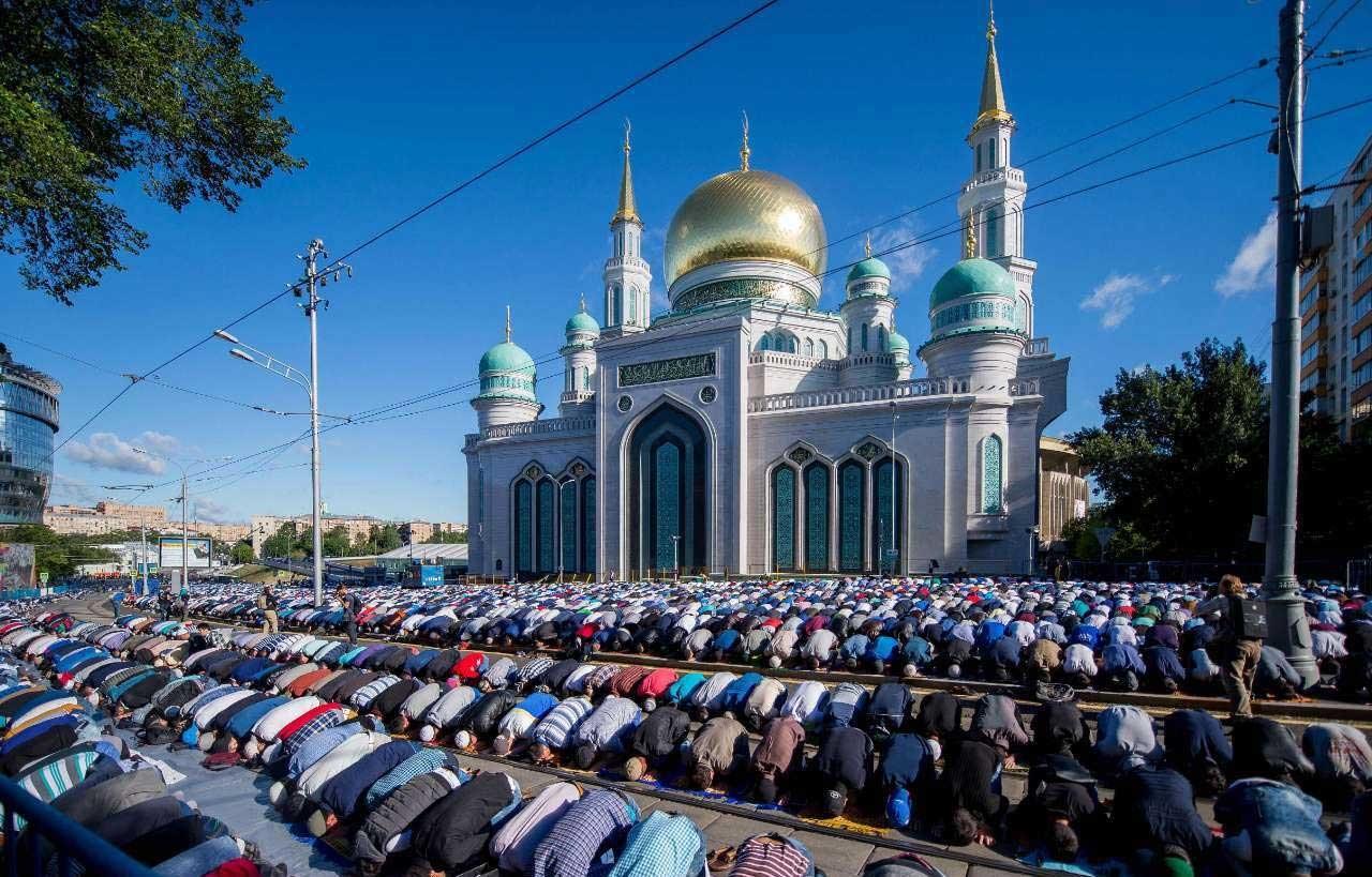 تصاویر   نماز عید سعید فطر در کشورهای اسلامی