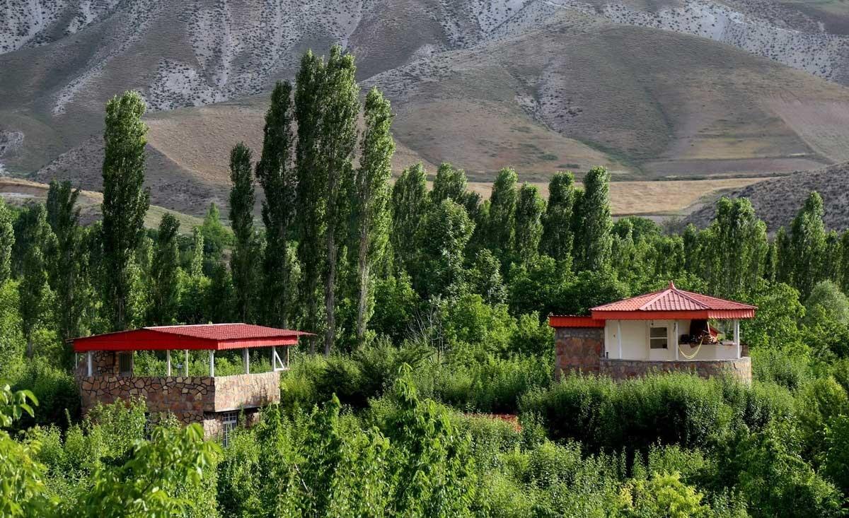 تصاویر | ویلاسازی در مناطق خوش آب و هوای بجنورد