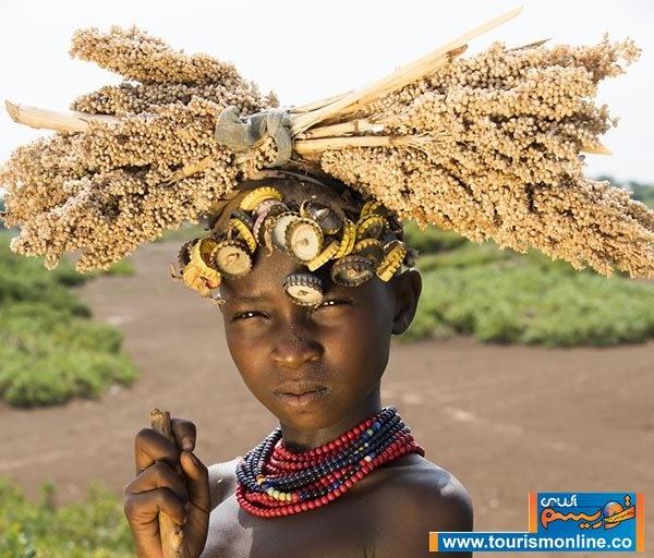 تصاویر | سفر یک جهانگرد به قبیله ای دورافتاده در اتیوپی