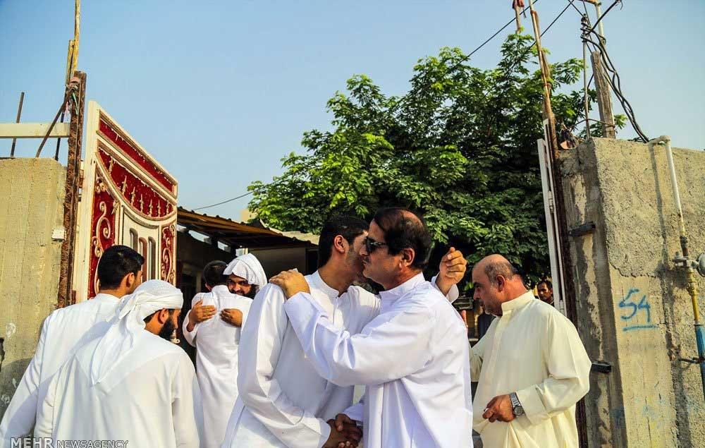 تصاویر   دید و بازدید مردم عسلویه در روز عید فطر
