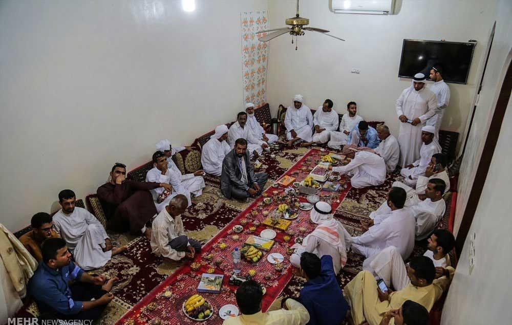 تصاویر | دید و بازدید مردم عسلویه در روز عید فطر